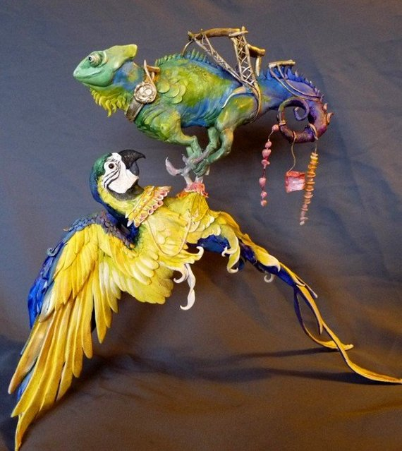 Beautiful Clay Creatures By Ellen Jewett