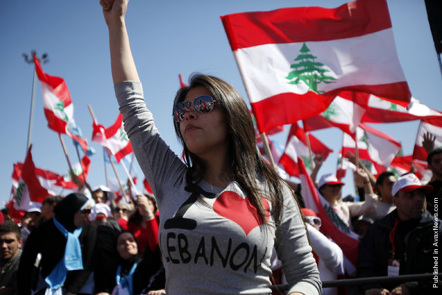 Mass Rally In Beirut To Demand Hezbollah Disarm