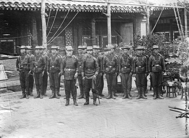 1906: Chinese soldiers in the Russo-Japanese War