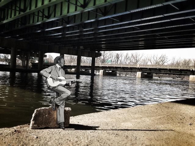 """Where Market Street Meets the River"". (Photo by Joe Lurato)"