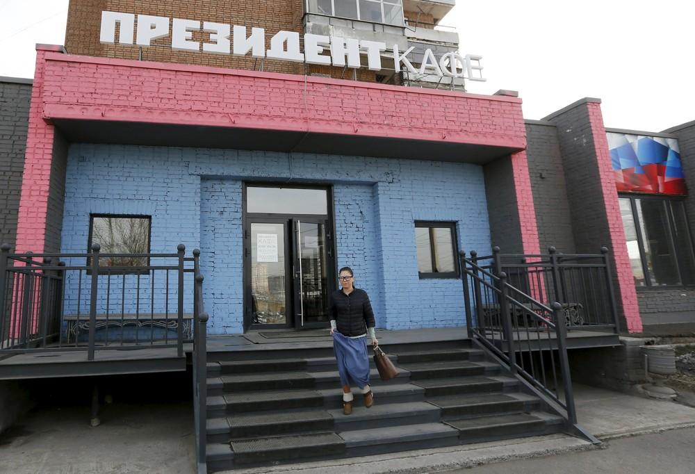 Siberia's Putin Cafe