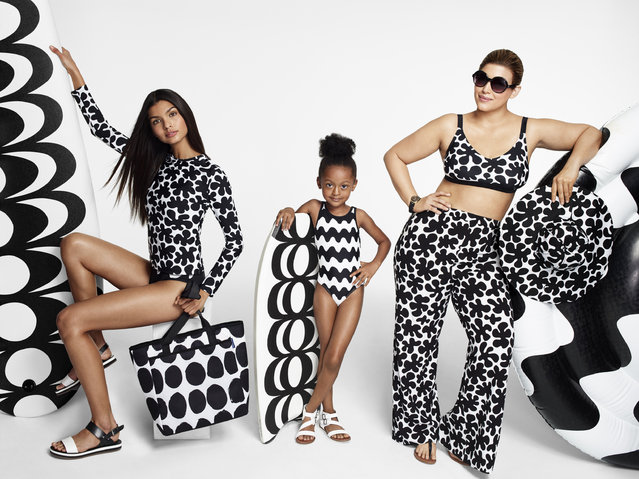 This image provided by Target shows examples of the company's new Marimekko Collection, launched on Sunday, April 17, 2016. The launch comes as Target is getting back its fashion mojo under CEO Brian Cornell, who took the helm in August 2014. (Photo by Target via AP Photo)