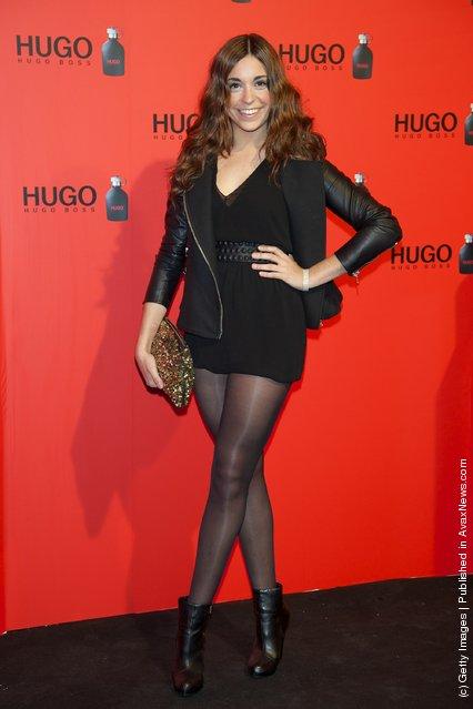 Spanish actress Carlota Baro attends Hugo Boss night party 2011