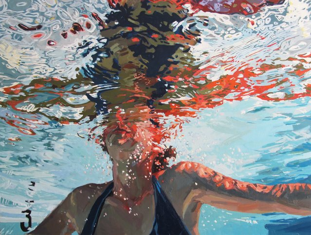 The Underwater Paintings By Samantha French