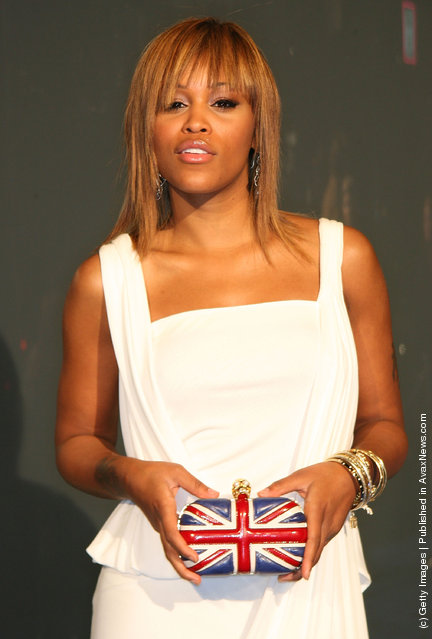 Actress Eve attends the launch of Alexander McQueen's Flagship Boutique