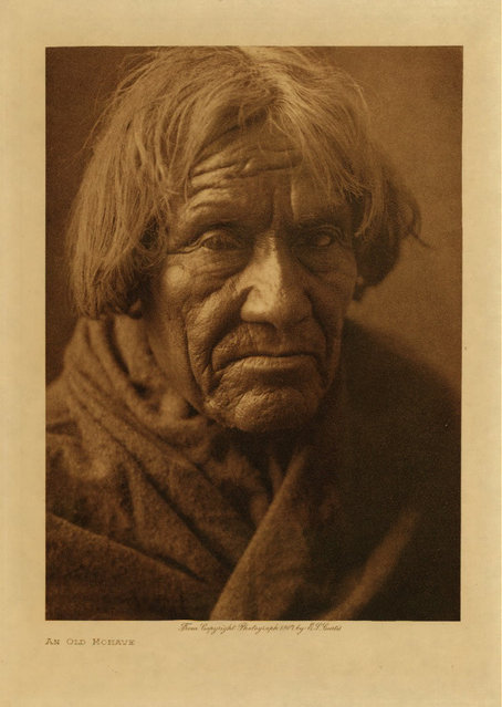 A Mohave in 1907. (Photo by Edward S. Curtis)