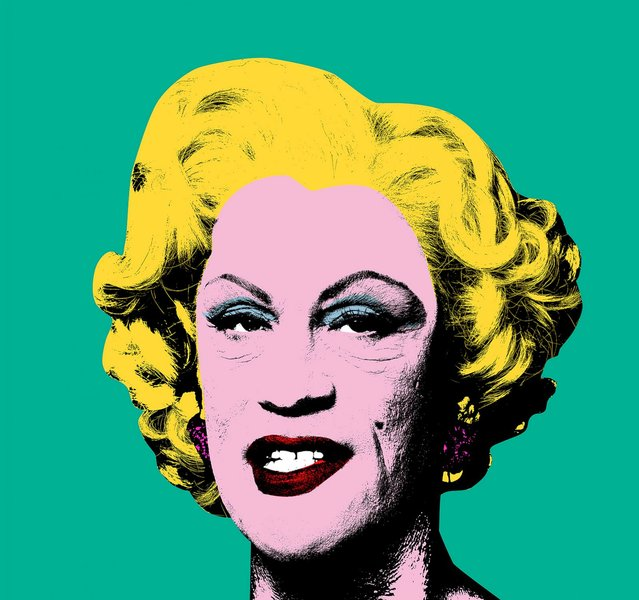 "John Malkovich as Marilyn Monroe in a re-creation of Andy Warhol's 1962 painting. The image is a part of the series, ""The Malkovich Sessions"", by photographer Sandro Miller and on display at the Catherine Edelman Gallery in Chicago. Miller wanted to pay homage to the artists who influence his photographic career, and approached Malkovich with the idea of re-creating the famous portraits. (Photo by Sandro Miller/Catherine Edelman Gallery)"