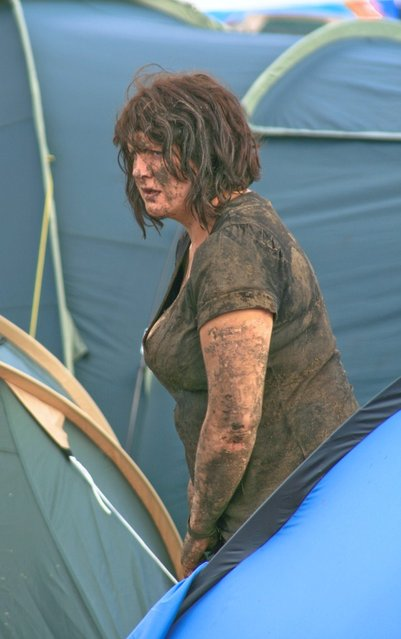"""Mud Queen"". (Photo by Steve Garrington)"