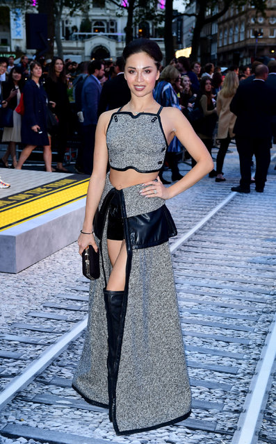 Katya Jones attending the world premiere of The Girl On The Train at Leicester Square, London on Tuesday 20th September, 2016. (Photo by Ian West/PA Wire)
