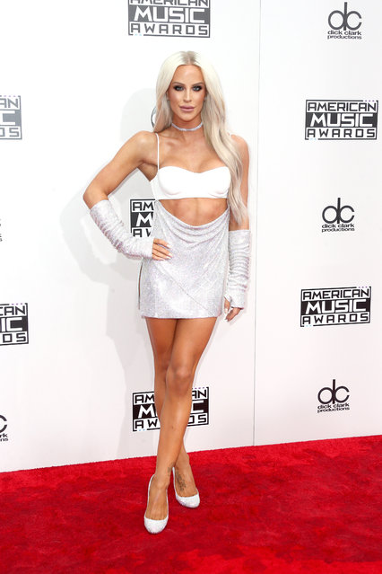 Model Gigi Gorgeous attends the 2016 American Music Awards at Microsoft Theater on November 20, 2016 in Los Angeles, California. (Photo by Frederick M. Brown/Getty Images)
