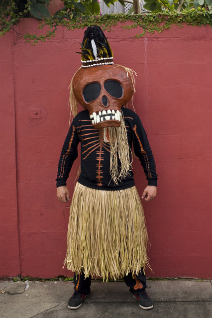 """The Skeleton Krewe 2013 – Our Venerable Leader"". (Kevin O'Mara)"
