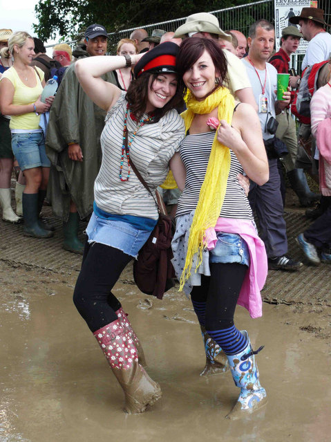 """Muddy Glastonbury 2008"". (Photo by Carina)"