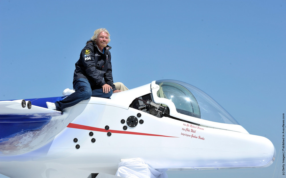 Sir Richard Branson And The Virgin Group Global Media Announcement Event