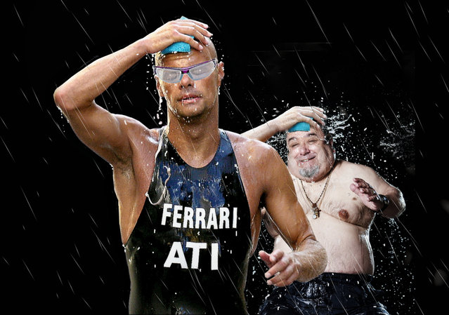 """""""Lo sport è ALLEGRIA"""". (Photo by Giovanni Ambrosioni)"""