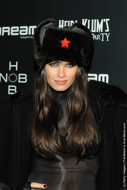 Model Larissa Bond attends Heidi Klum's 12th annual Halloween party