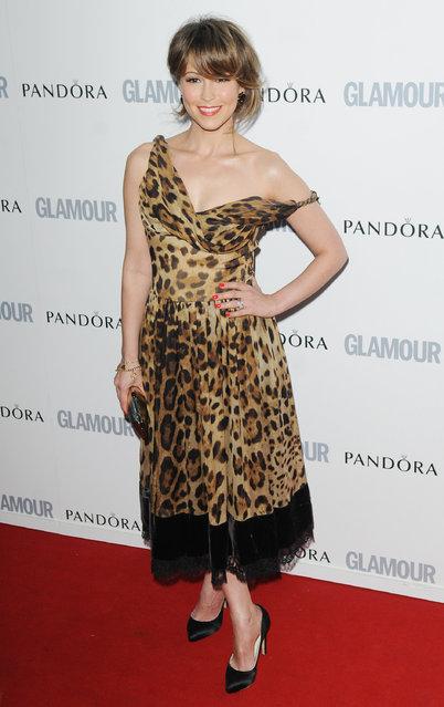 LONDON, UNITED KINGDOM - JUNE 07: Rachel Stevens attends Glamour Women Of The Year Awards  at Berkeley Square Gardens on June 7, 2011 in London, England. (Photo by Stuart Wilson)
