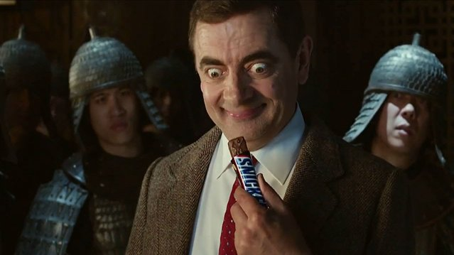 Funny Ad - Snickers Mr Bean, Video