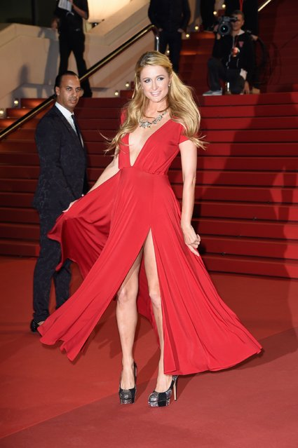Paris Hilton attends the NRJ Music Awards at Palais des Festivals on December 13, 2014 in Cannes, France. (Photo by Pascal Le Segretain/Getty Images)