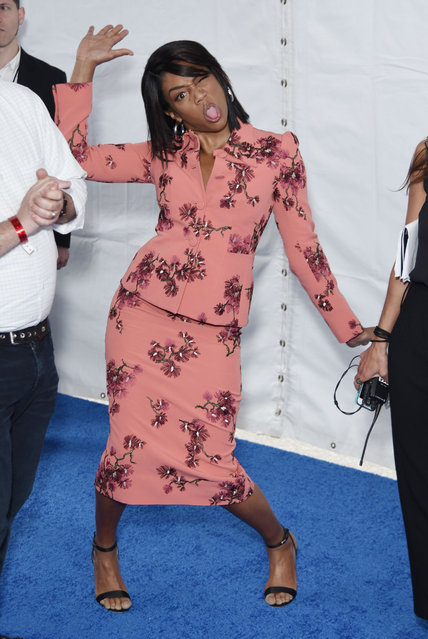 Tiffany Haddish seen at Turner Up-Front, Madison Square Garden, NYC on May 16, 2018. (Photo by Derek Storm/Splash News and Pictures)