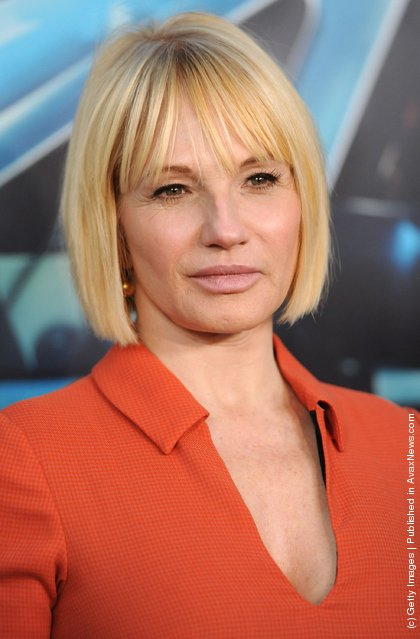 Actress Ellen Barkin