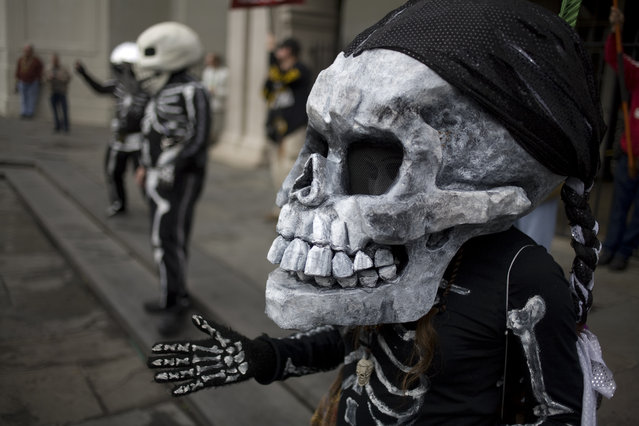 """The Skeleton Krewe 2013 – Kristin"". (Kevin O'Mara)"