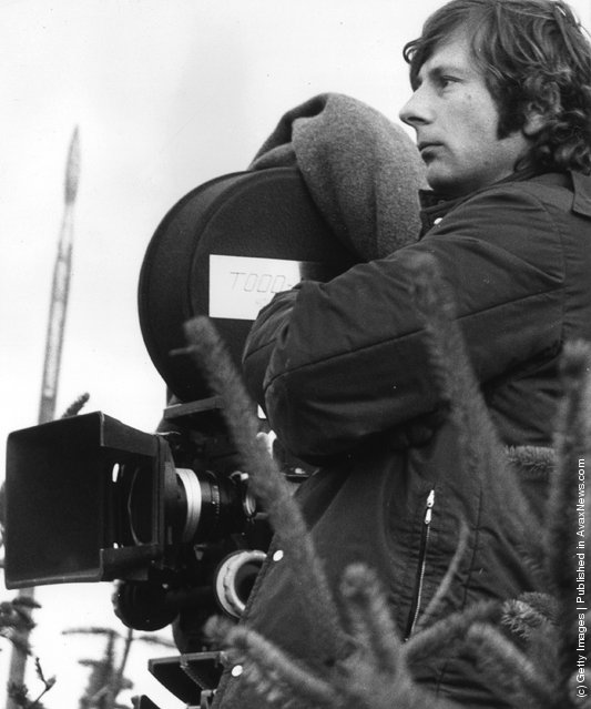 1970: Roman Polanski shooting a film version of Shakespeare's 'Macbeth' on location in Northumberland