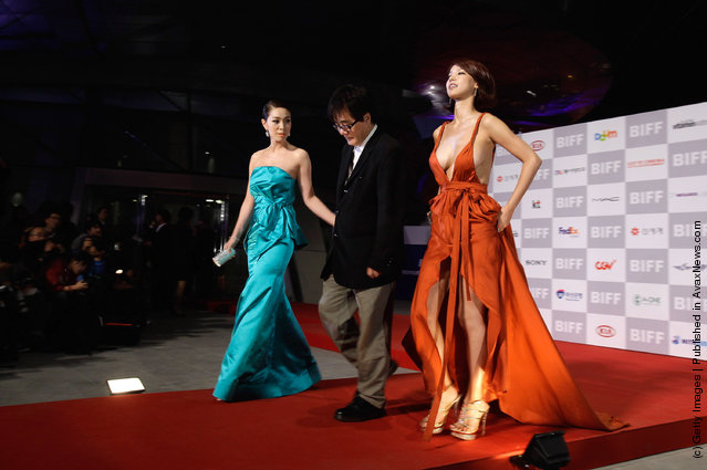 Actress Oh In-Hae and director Ahn Sang-Su