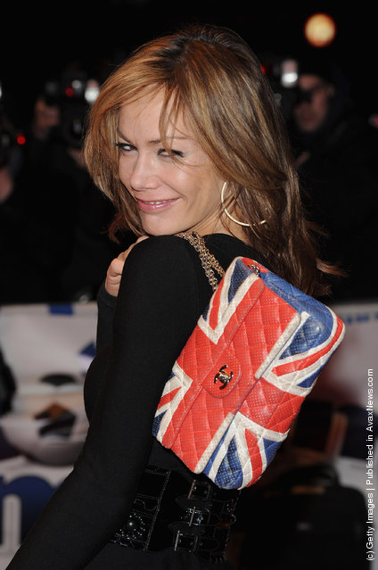Tara Palmer Tomkinson attends the UK premiere of 'The Shouting Men' at Odeon West End