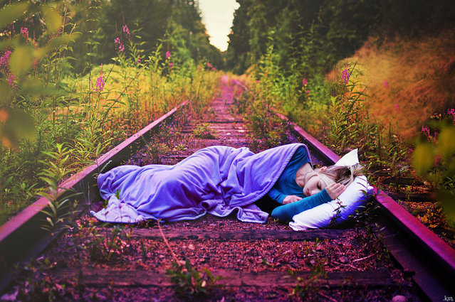 """"""".sleep tracks."""". (Kindra Nikole)"""