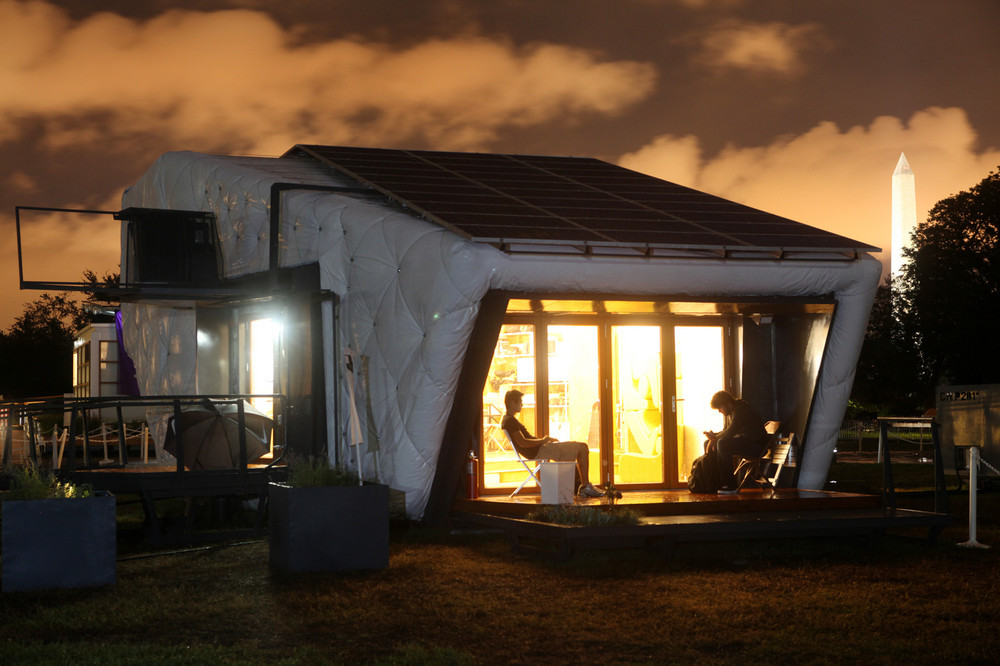 CHIP House Powered by Solar Energy