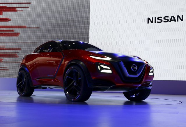 The Nissan Gripz concept car is seen at the 44th Tokyo Motor Show in Tokyo October 28, 2015. (Photo by Thomas Peter/Reuters)