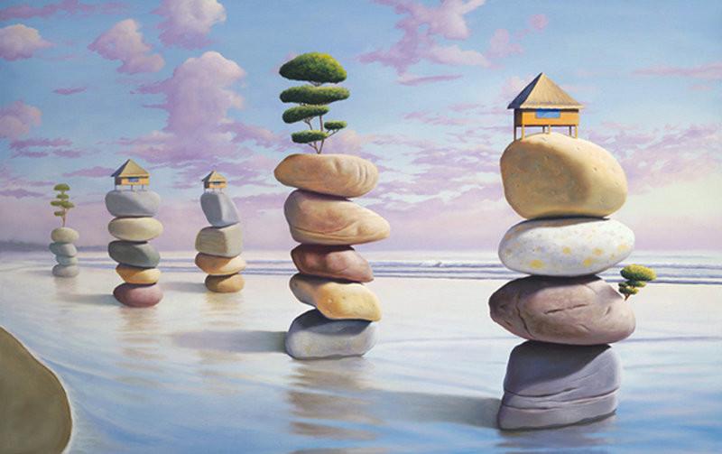 Oil Paintings by Paul David Bond