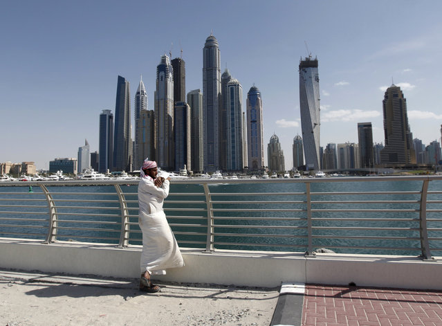 20: The Princess Tower in Dubai. Height: 1,358 ft. (Photo by Jumana El Heloueh/Reuters)