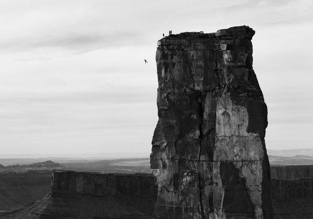 Photographer: Krystle Wright. Athlete: Michael Tomchek. Location: Castle Valley, Utah. (Photo by Krystle Wright/Red Bull Illume via The Atlantic)
