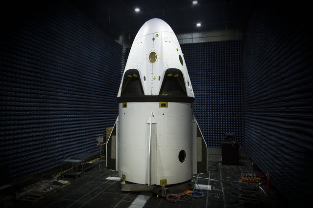Crew Dragon, America's next generation crewed spacecraft is almost ready for a test flight. (Photo by SpaceX Photos)