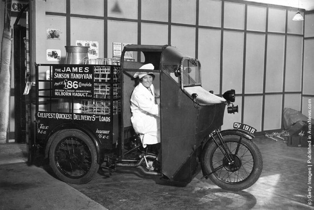 The James Samson Handyman electric cart