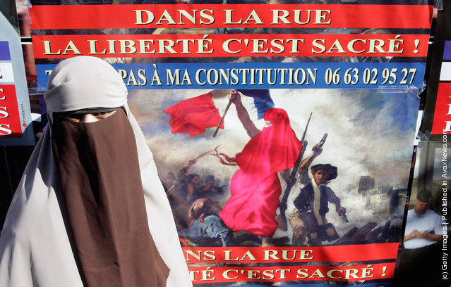 Kenza Drider, 32, announces her candidacy for France's 2012 Presidential election