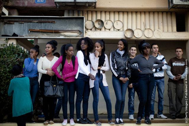 Israelis Of Ethiopian Origin Protest Racism In Kiryat Malakhi