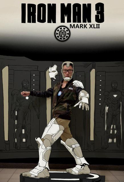 Comic Book Illustrations By Gaikuo-Captain Part 2
