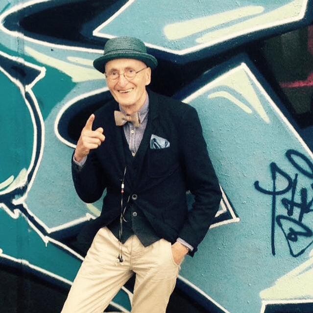 The World's Most Fashionable Grandpa By Gunther Krabbenhoft