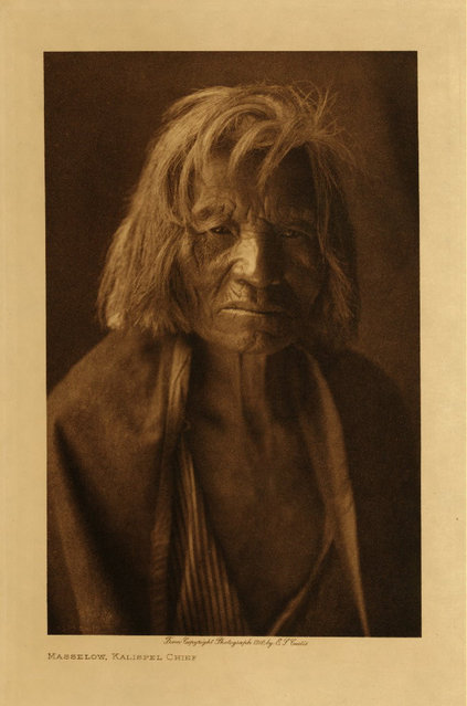 Masselow, a Kalispel chief, in 1910. (Photo by Edward S. Curtis)