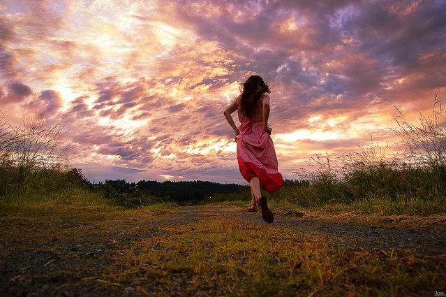 """Where the Summer Grass Leads"". (Kindra Nikole)"