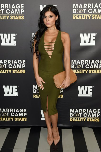 Marissa Jade attends The Season 6 Premiere of Marriage Boot Camp Reality Stars at Up & Down on September 22, 2016 in New York City. (Photo by Jamie McCarthy/Getty Images for WE tv)