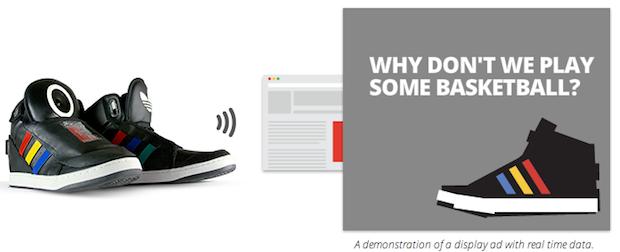 Google & Adidas – Talking Shoe