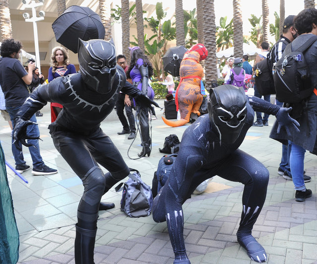 Cosplayers attends day 3 of WonderCon 2018 held at Anaheim Convention Center on March 25, 2018 in Anaheim, California. (Photo by Albert L. Ortega/Getty Images)