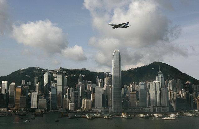 21: Hong Kong's Two International Financial Center. Height: 1,362 feet. (Photo by Reuters/Stringer)