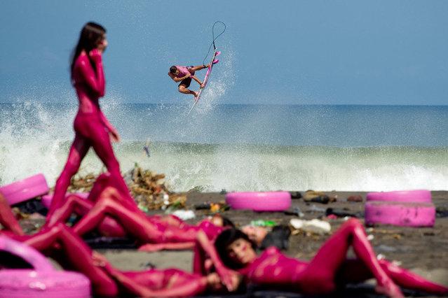 Photographer: Jason Reposar. Athlete: Dion Agius. Location: Bali, Indonesia. (Photo by Jason Reposar/Red Bull Illume via The Atlantic)