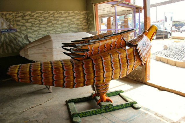 The Fantasy Coffins From Ghana