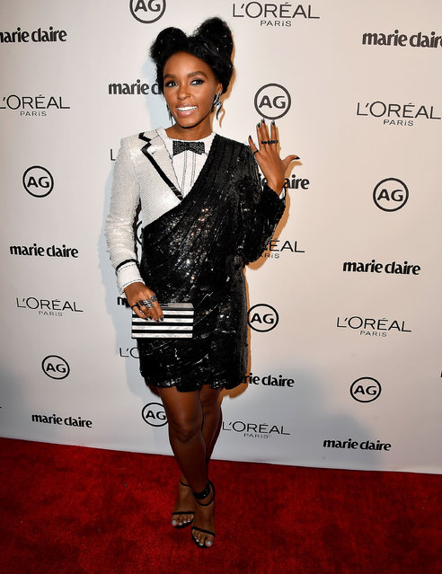 Janelle Monae arrives at the Marie Claire's Image Maker Awards 2017 on January 10, 2017 in West Hollywood, California. (Photo by Steve Granitz/WireImage)