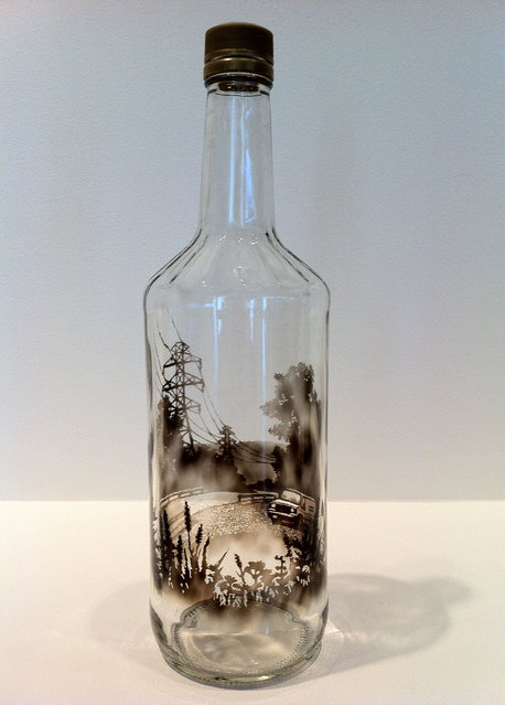 The Bottled Smoke Artworks By Jim Dingilian